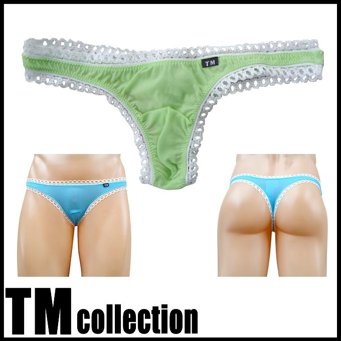 TMコレクション メンズビキニ SMF 飾りピコゴム Tバック 30%OFF  115306