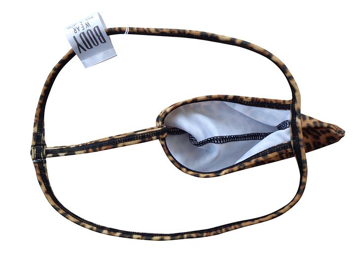 メンズ 豹柄 Tフロント Gストリング ボディウェアー 1508068